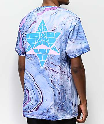 Pyramid Country Cotton Candy Marble Dyed T-Shirt