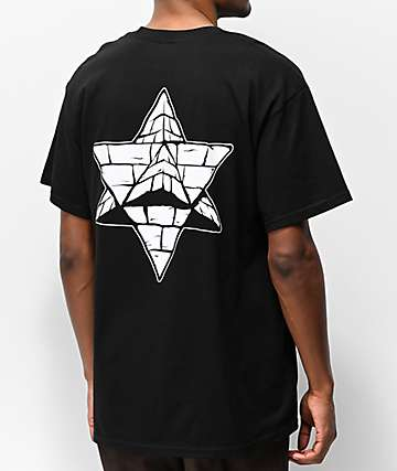 Pyramid Country Glogo Black Pocket T-Shirt