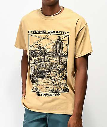 Pyramid Country Sonoran camiseta beige