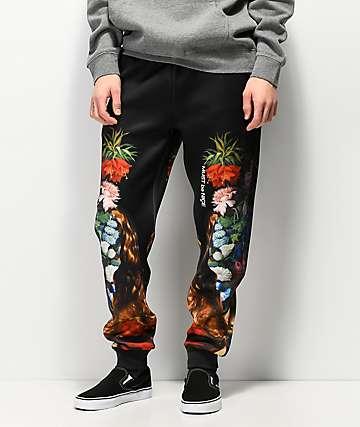 RIPNDIP Bouquet pantalones de neopreno negro