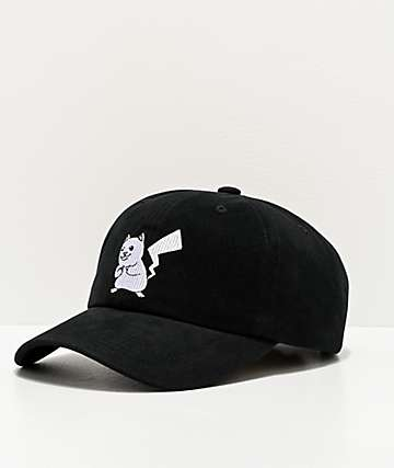 RIPNDIP Catch Em All Black Strapback Hat