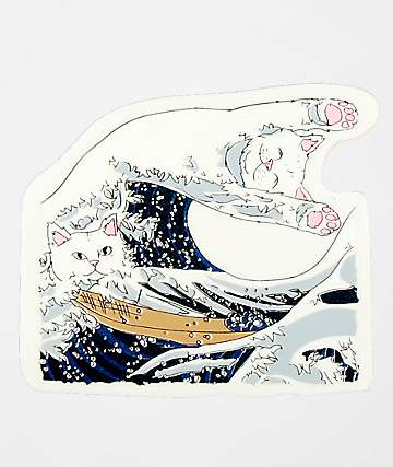 RIPNDIP Great Wave Sticker