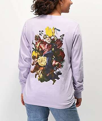 RIPNDIP Heavenly Bodies Violet Long Sleeve T-Shirt