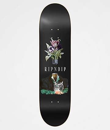 """RIPNDIP Lights Out 8.25"""" Skateboard Deck"""
