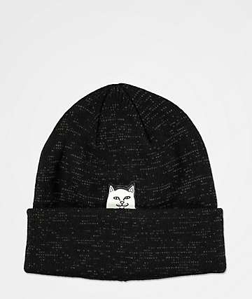 RIPNDIP Lord Nermal gorro negra reflectante
