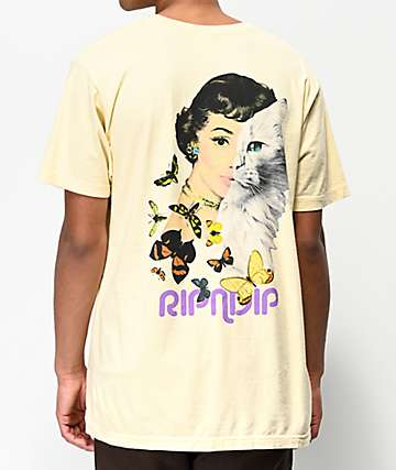 RIPNDIP Mask Yellow T-Shirt
