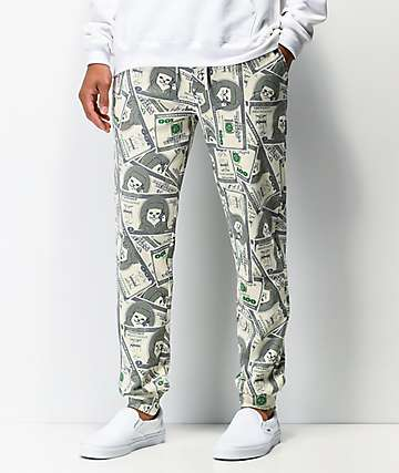 RIPNDIP Money Bag Green Sweatpants