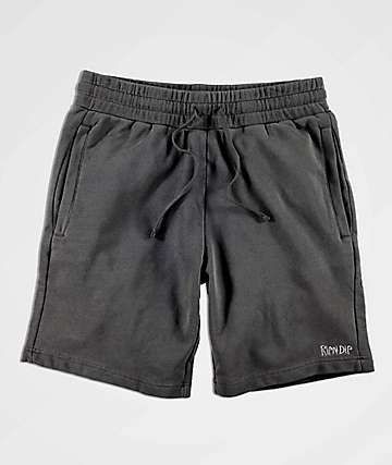 RIPNDIP Peek A Nermal Black Sweat Shorts