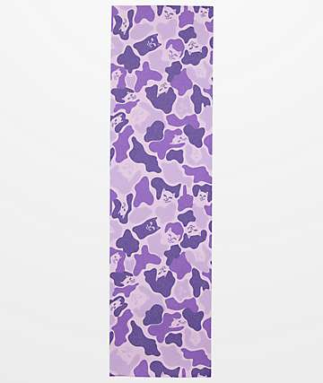 RIPNDIP Purple Camo Grip Tape
