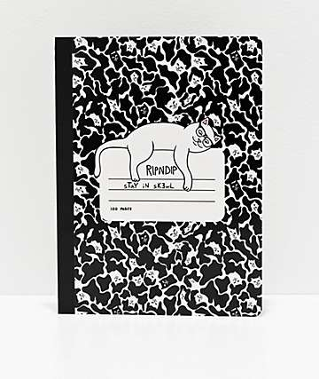 RIPNDIP Stay In Skewl Notebook