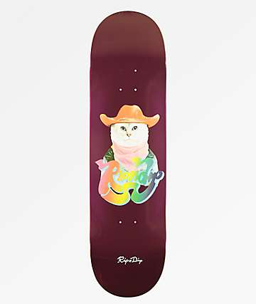 "RIPNDIP Yee Haw 8.5"" Skateboard Deck"