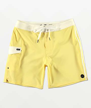 RVCA Higgins Yellow Board Shorts