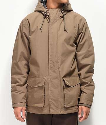 RVCA Wood Puffer Parka Jacket