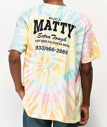 RVCA x Matty Matheson Matty's Multicolor Tie Dye T-Shirt