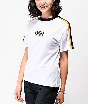 Ragged Jeans Judge White T-Shirt