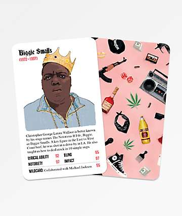 Rapper Stacks The Nineties Card Game
