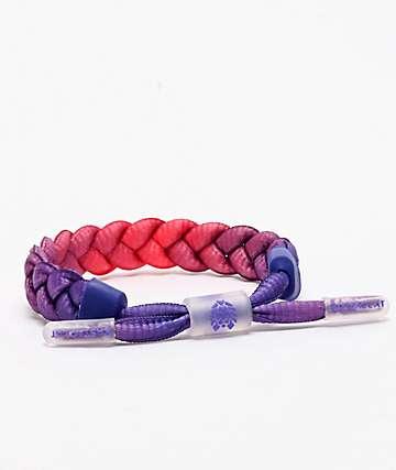 Rastaclat Classic Translucid Sunset Drops Purple & Pink Bracelet