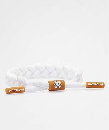 Rastaclat Gum pulsera blanca