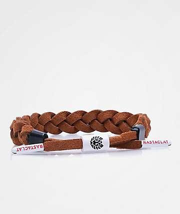 Rastaclat Jux Brown Suede Bracelet
