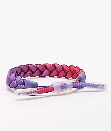 Rastaclat Miniclat Evening Shift Purple & Pink Bracelet