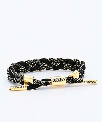 Rastaclat New Years 2020 Bubbly Black & Gold Bracelet