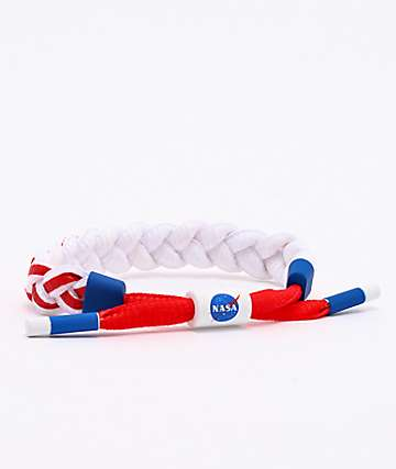 Rastaclat x NASA Asteroid Red, White & Blue Bracelet