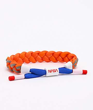 Rastaclat x NASA Comet Orange & Blue Bracelet