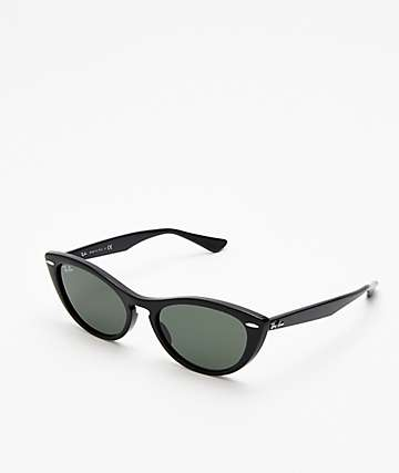 Ray-Ban RB4314N Black & Green Sunglasses
