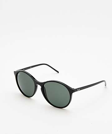 Ray-Ban RB4371 Black & Green Sunglasses