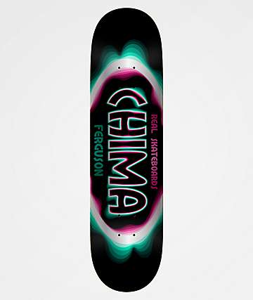 "Real Chima Bandwidth Oval 8.25"" Skateboard Deck"