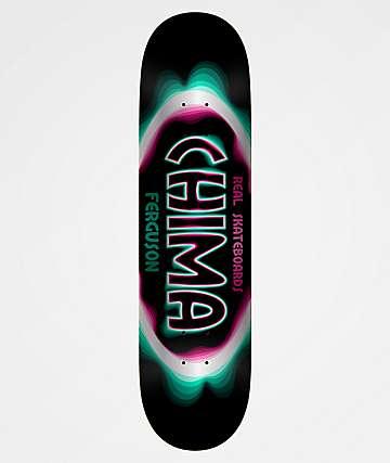 "Real Chima Bandwidth Oval 8.25"" Skateboard Deck"
