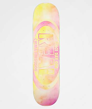 "Real Chima Watercolor Oval 8.06"" Skateboard Deck"