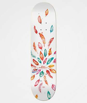 "Real Davis Wild Feathers 8.25"" Skateboard Deck"