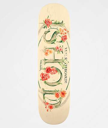 "Real Ishod Blossom Oval Full 8.25"" Skateboard Deck"