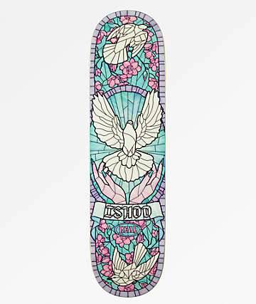 "Real Ishod Cathedral 8.25"" Skateboard Deck"
