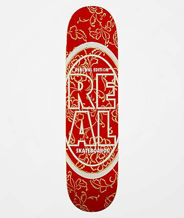 "Real Stacked Floral Renewal 7.75"" Skateboard Deck"