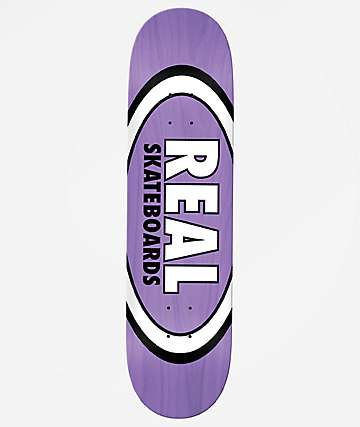 "Real Team Oval Overspray 8.5"" Skateboard Deck"