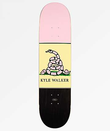 "Real Walker Outlaw 8.06"" Skateboard Deck"