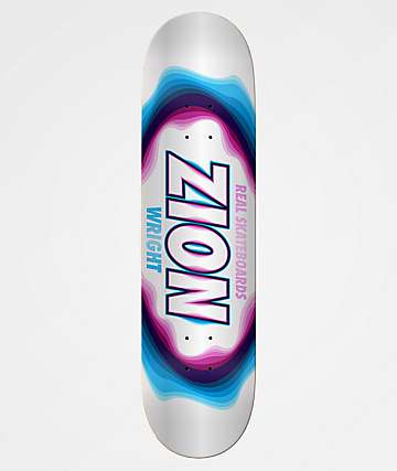 "Real Zion Bandwidth Oval 8.06"" Skateboard Deck"