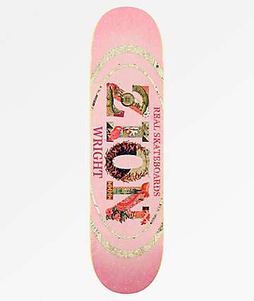 "Real Zion Cut & Paste Oval 8.06"" Skateboard Deck"
