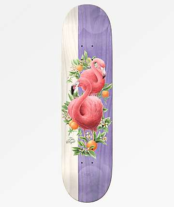 "Real Zion Wright Natural Domain II 8.25"" Skateboard Deck"