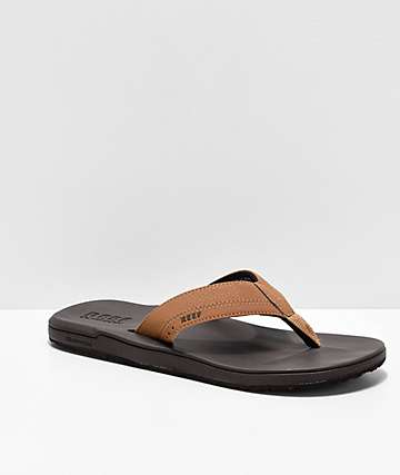 Reef Contoured Cushion Brown Sandals