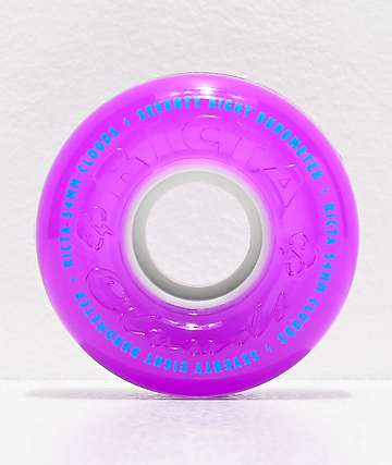 Ricta Crystal Clouds 54mm 78a Purple Skateboard Wheels