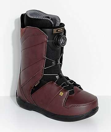 Ride Anthem Crimson Boa Snowboard Boots