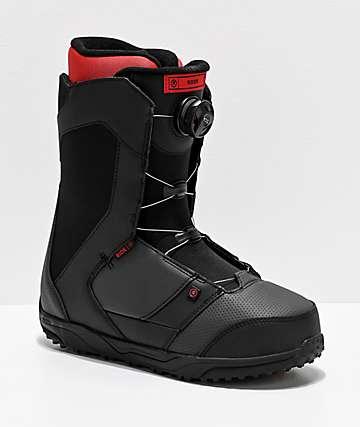 Ride Rook Black Boa Snowboard Boots 2020