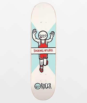 "Roger Sucking At Life 8.0"" Skateboard Deck"
