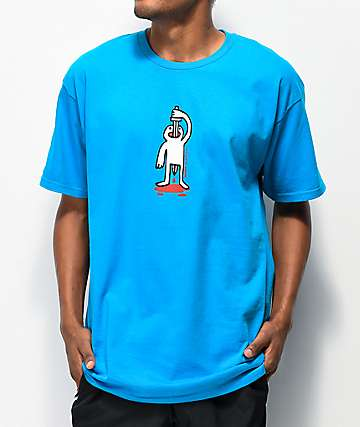 Roger Sword Swallower Blue T-Shirt