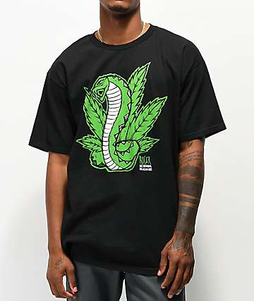 Roger Weed & Cobras Black T-Shirt