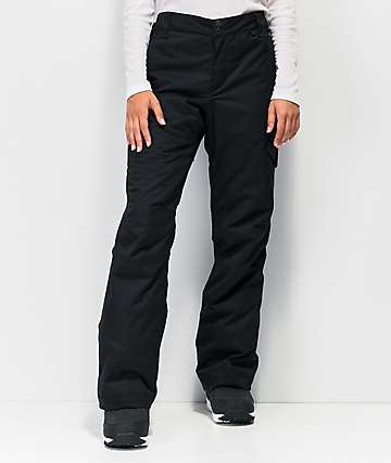 Rojo Adventure Awaits Black 15K Snowboard Pants