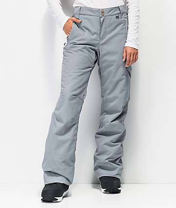 Rojo Adventure Awaits Grey 15K Snowboard Pants